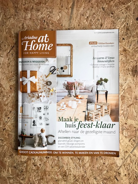 Ariadne at Home - editie 11/2018
